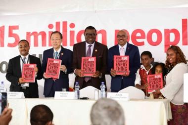 UNAIDS announces the AIDS targets of MDG 6 is met ahead of schedule