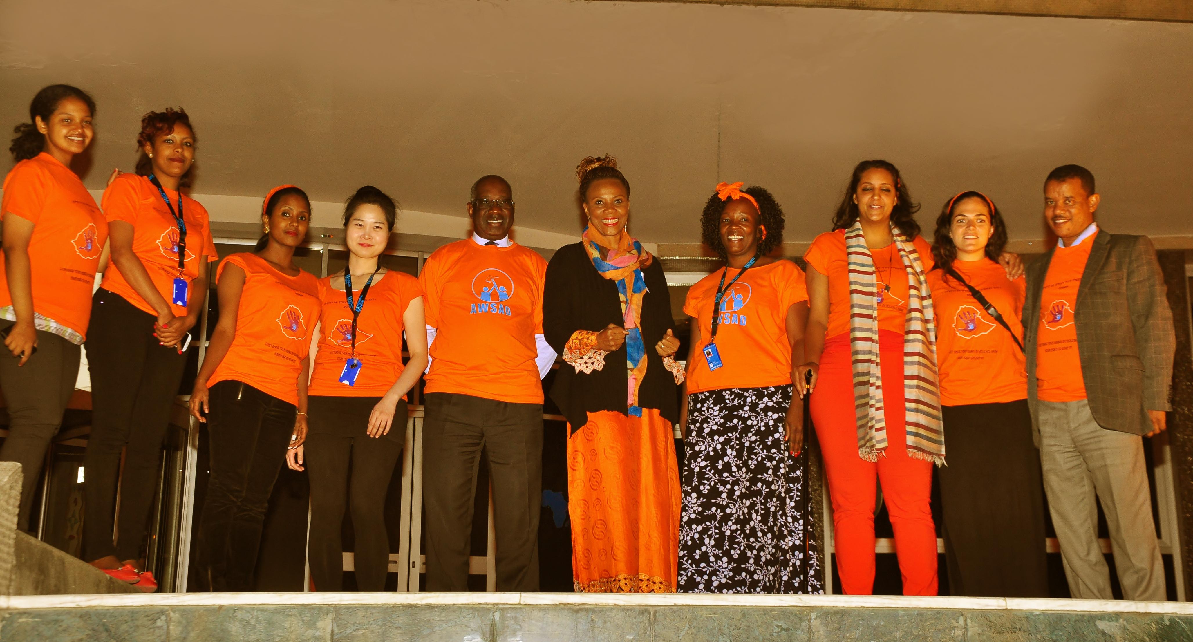 Ethiopia celebrated 16 Days of Activism against Gender-Based Violence