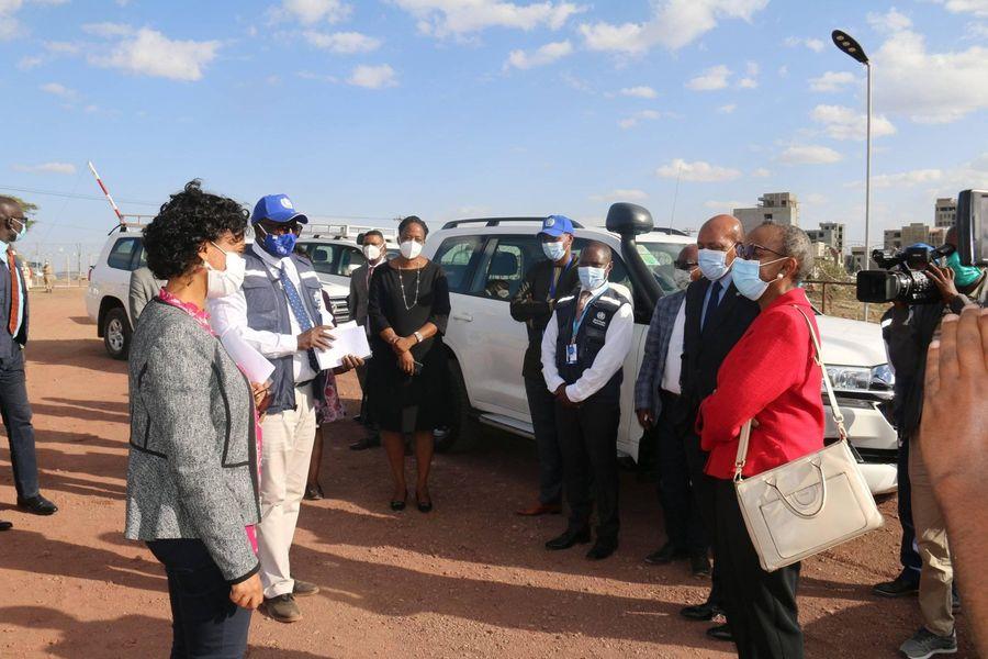 WHO Regional Director for Africa inaugurates regional emergency medical team training center in Ethiopia