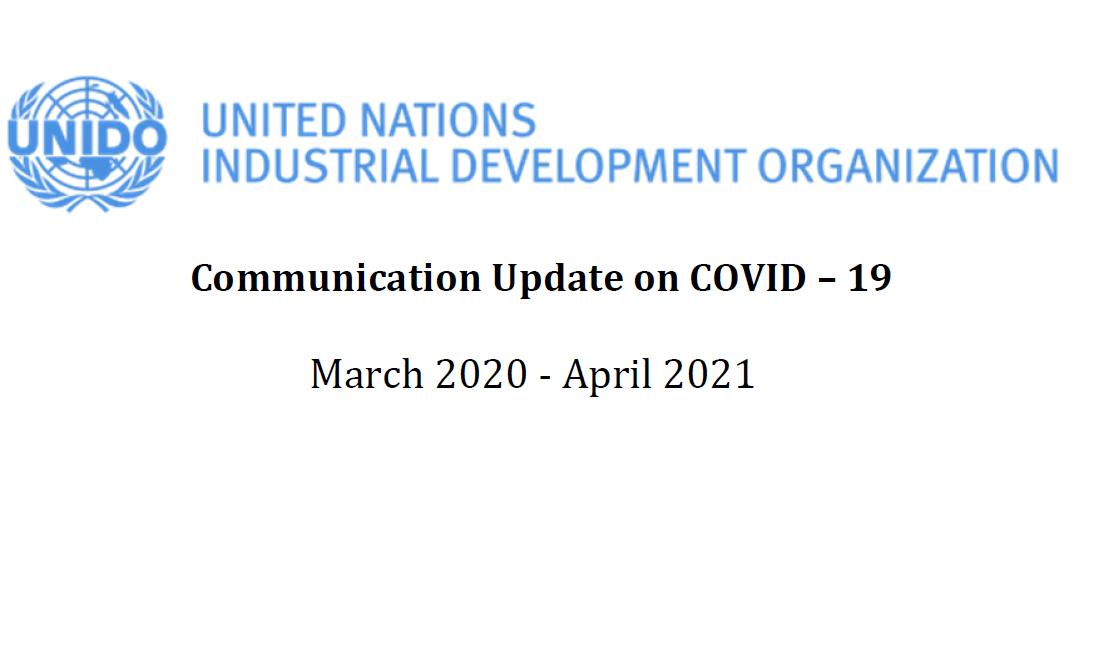 UNIDO Communication Updates on COVID-19