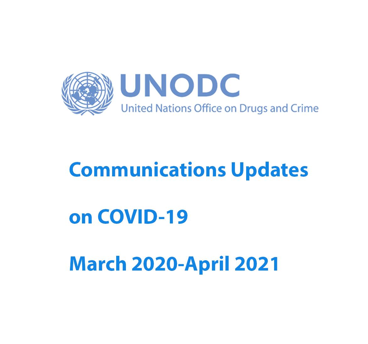 UNODC Communications Updates on COVID-19