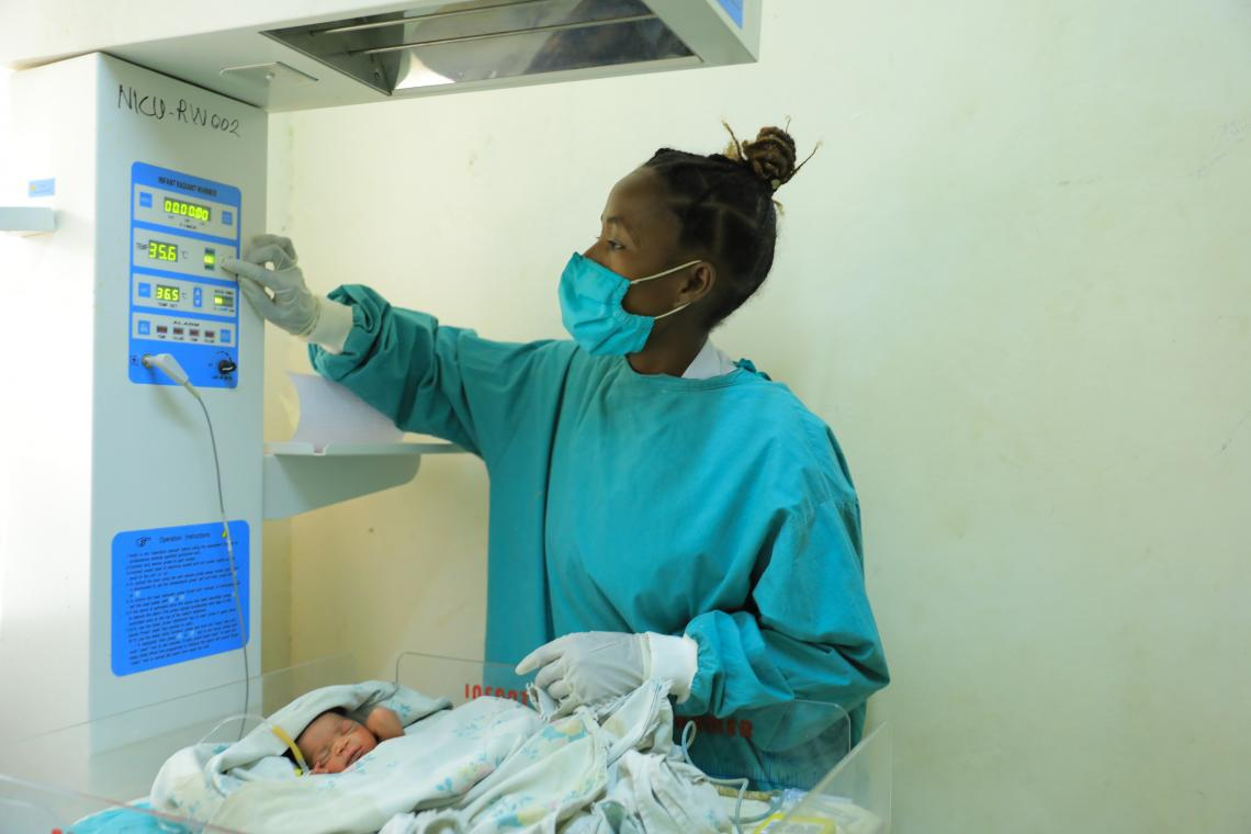 Saving Ethiopia's youngest children