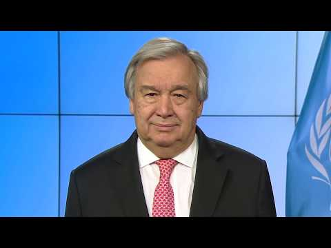 Secretary-General António Guterres video message on new coronavirus – COVID-19