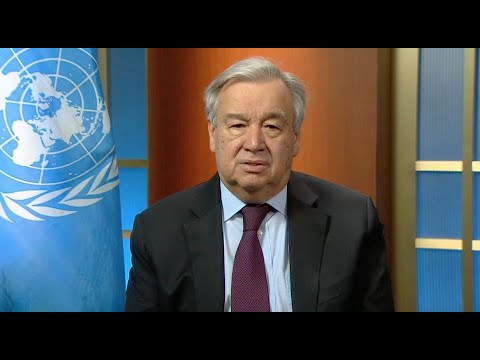 United Nations Secretary-General António Guterres Special Appeal to Religious Leaders