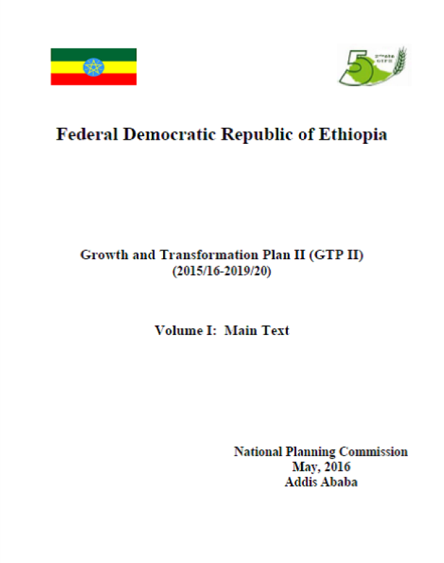Growth and Transformation Plan II | United Nations in Ethiopia